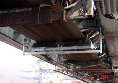 MARTIN TRACKER regulační systémy pro reverzní dopravníy